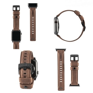 Dây da UAG Leather Watch Strap cho Apple Watch (chính hãng)